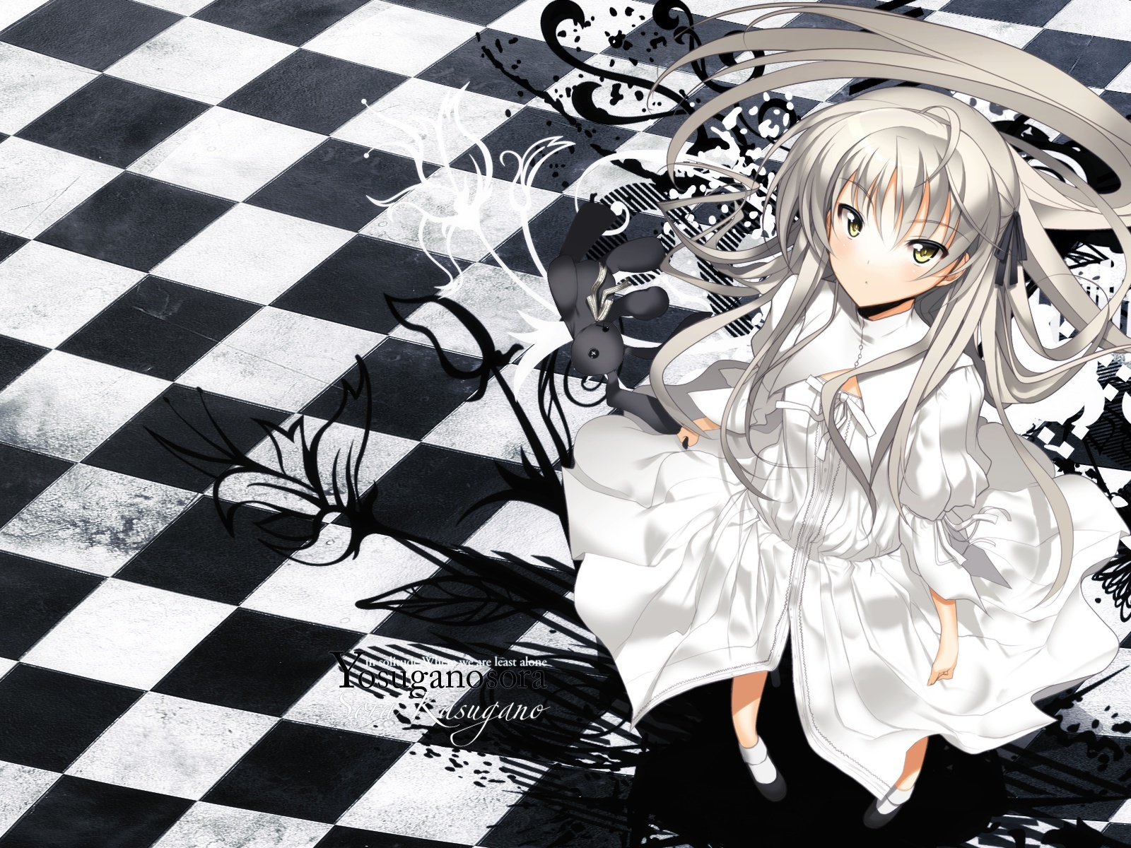 fond d 39 ecran yosuganosora wallpaper. Black Bedroom Furniture Sets. Home Design Ideas