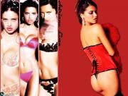 Adriana Lima en corset