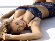 Blonde Blue lingerie