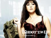 Monica Bellucci Shoot em up